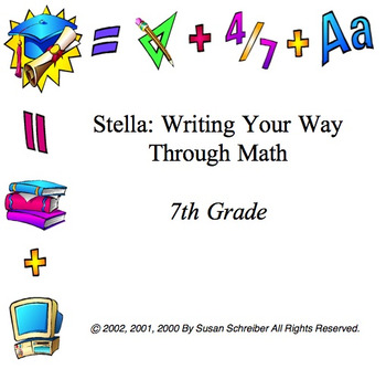 7th Grade Stella Curriculum Package