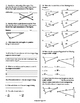 7th Grade Study Guide Angle Relationships, Triangle Theorems & Similar Shapes