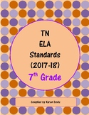 7th Grade TN ELA Standards (2017-18)