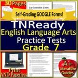 7th Grade TNReady Test Prep Practice Tennessee State ELA TCAP