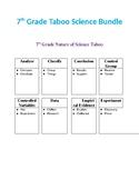 7th Grade Taboo Science Bundle