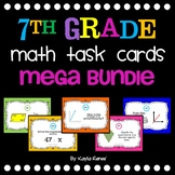 7th Grade MATH Task Cards Mega Bundle {Aligned with Common Core}