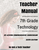7th Grade Technology: 32-lesson Comprehensive Curriculum
