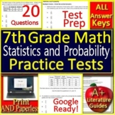 7th Grade Math Test Prep: Statistics and Probability - Standardized Testing