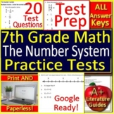 7th Grade Math Test Prep: The Number System - Standardized Testing