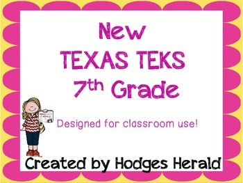 7th Grade Texas Standards