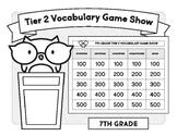 7th Grade Tier 2 Vocabulary Game Show