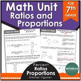7th Grade Unit 3 Percents, Ratios, Proportions, and Similar Figures