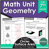 7th Grade Math Unit 6 GEOMETRY