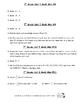 7th Grade Unit I Math Minis