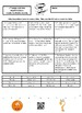 7th Grade Unit Rate Word Problems Create the Riddle Activity