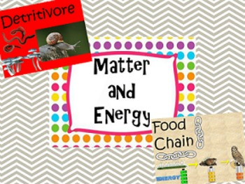 7th Grade Vocabulary: Matter and Energy