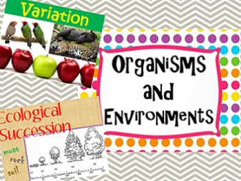 7th Grade Vocabulary: Organisms and Environments