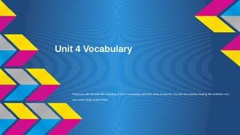 7th Grade Vocabulary Unit 4 - Sadlier - Oxford - Level B