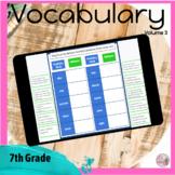 Vocabulary for 7th Grade VOLUME 3