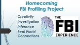 7th Grade English Lesson Plans - Homecoming - FBI Profilin