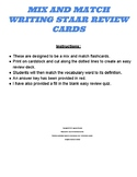 7th Grade Writing STAAR Review Flash Cards