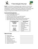 7th Grade Writing Unit Plan/Activities