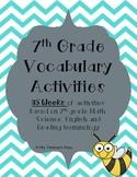 7th Grade Year Long Vocabulary