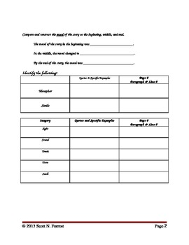 7th Grade by Gary Soto - Literary Analysis by Scott N ...