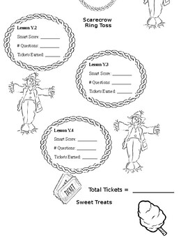 7th Grade iXL Fall Festival Challenge Review (Editable)