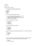 7th Grade science Exam Modified for Low Level Learners