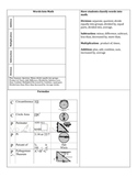 7th Math Flip Book-Assessment Preparation Activity