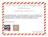 7th Math STAAR RC 3 Review Scavenger Hunt 7.4e, 7.5ac, 7.11c