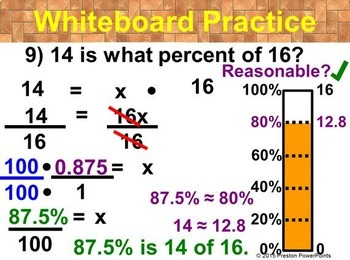 (7th) The Percent Equation in a PowerPoint Presentation