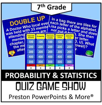 (7th) Quiz Show Game Probability and Statistics in a Power