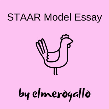 th grade staar model essay by elmerogallo teachers pay teachers 7th grade staar model essay