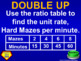 (7th) Quiz Show Game Ratios and Proportions in a PowerPoint Presentation