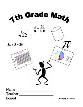 7th grade Common Core Workbook