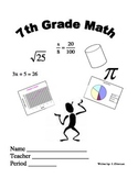 7th grade Common Core Workbook