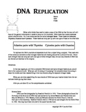 7th grade DNA Replication Activity