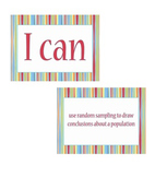 "7th grade ""I Can Statements"" Math Standard Posters"
