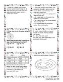 7th grade Math STAAR Review Category 1 Bingo