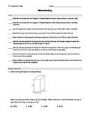 7th grade Math PSSA (PA Core) - Geometry