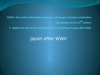 7th grade Social Studies  Asia History-Japan