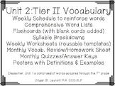 7th grade Tier 2 vocabulary