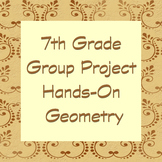 7th grade group project based geometry.