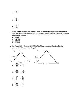 7th grade standardized test prep