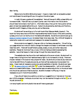 How to write an application letter 7th grade