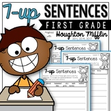 Journeys 1st Grade 7-up Sentence Writing w/Sight Words aligned with HMH Journeys