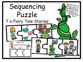 7x Fairy Tale- Sequencing Puzzles