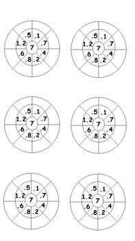 7x Multiplication Wheels
