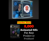 8,000 plus ANIMATED GRAPHICS - GIFS - for TPT Sellers / Teachers
