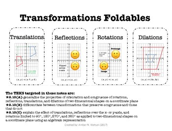8.10A-C Transformation Bundle