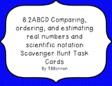 8.2ABCD Classifying and Comparing Real Numbers  Scavenger Hunt