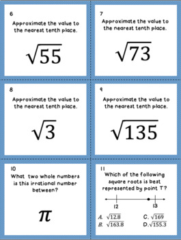8.2B Approximating the Value of an Irrational Number Unit